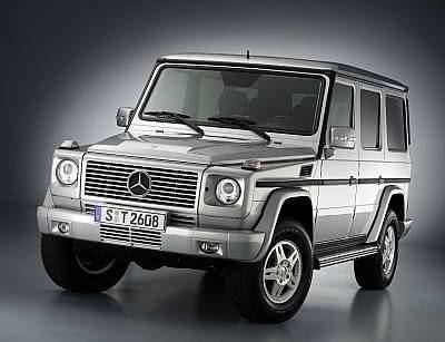 Modellpflege für die Mercedes-Benz G-Klasse